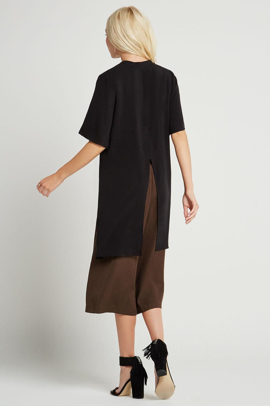 BCBGeneration Hue Short Sleeve Top - Side Cropped Image