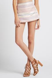 BCBGeneration Metallic Jacquard Skort - Product Mini Image