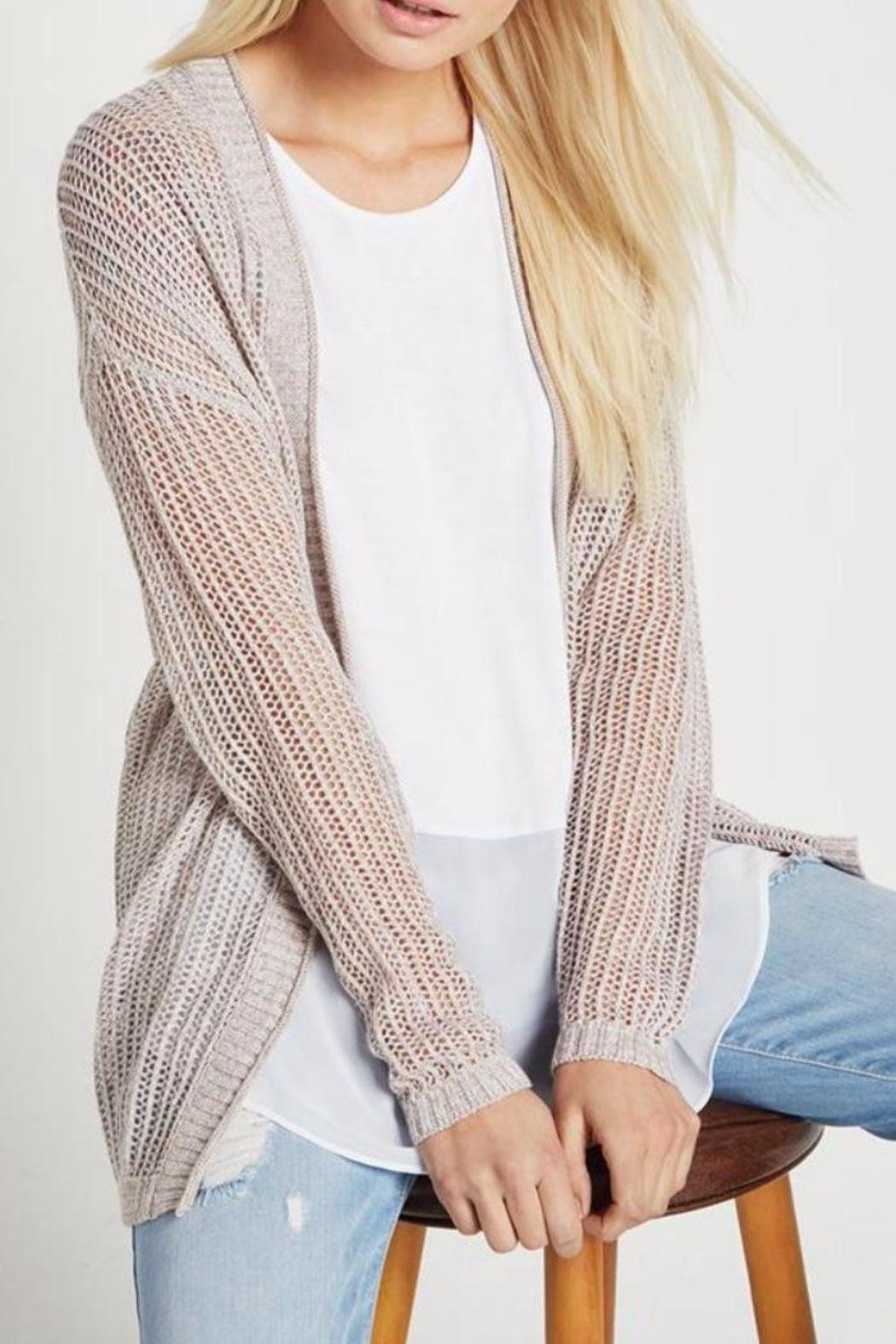 BCBGeneration Open Knit Cardigan from Cleveland by April Snow ...