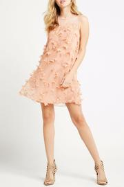BCBGeneration Peach Combo Dress - Front cropped
