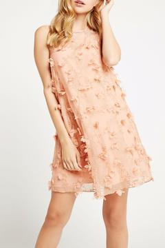 BCBGeneration Peach Combo Dress - Product List Image