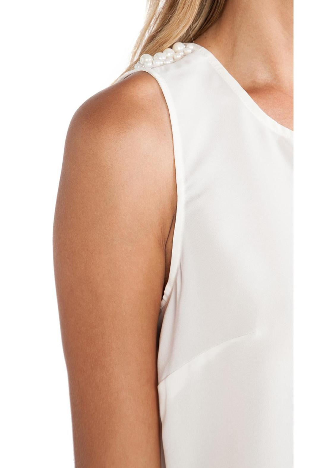 BCBGeneration Pearl Open-Back Top - Side Cropped Image
