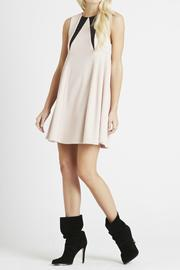 BCBGeneration Pleated Side Babydoll Dress - Front full body