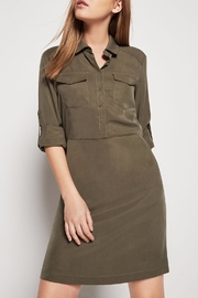 BCBGeneration Pocket Front Shirt Dress - Product Mini Image