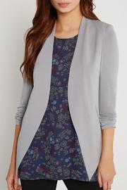BCBGeneration Pocket Tuxedo Blazer - Front full body