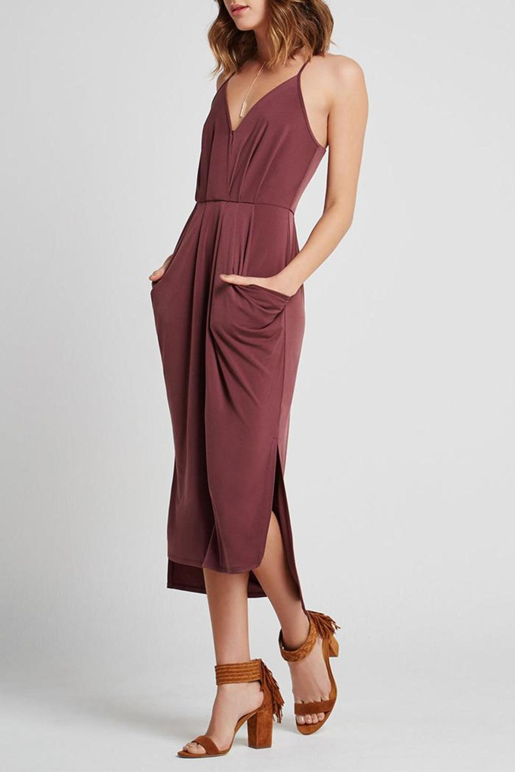 BCBGeneration Pocket V-Front Dress - Main Image