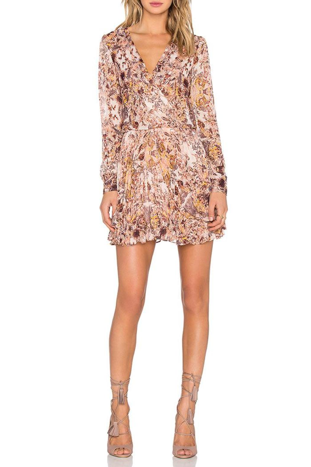 BCBGeneration Printed Mini Dress - Front Cropped Image