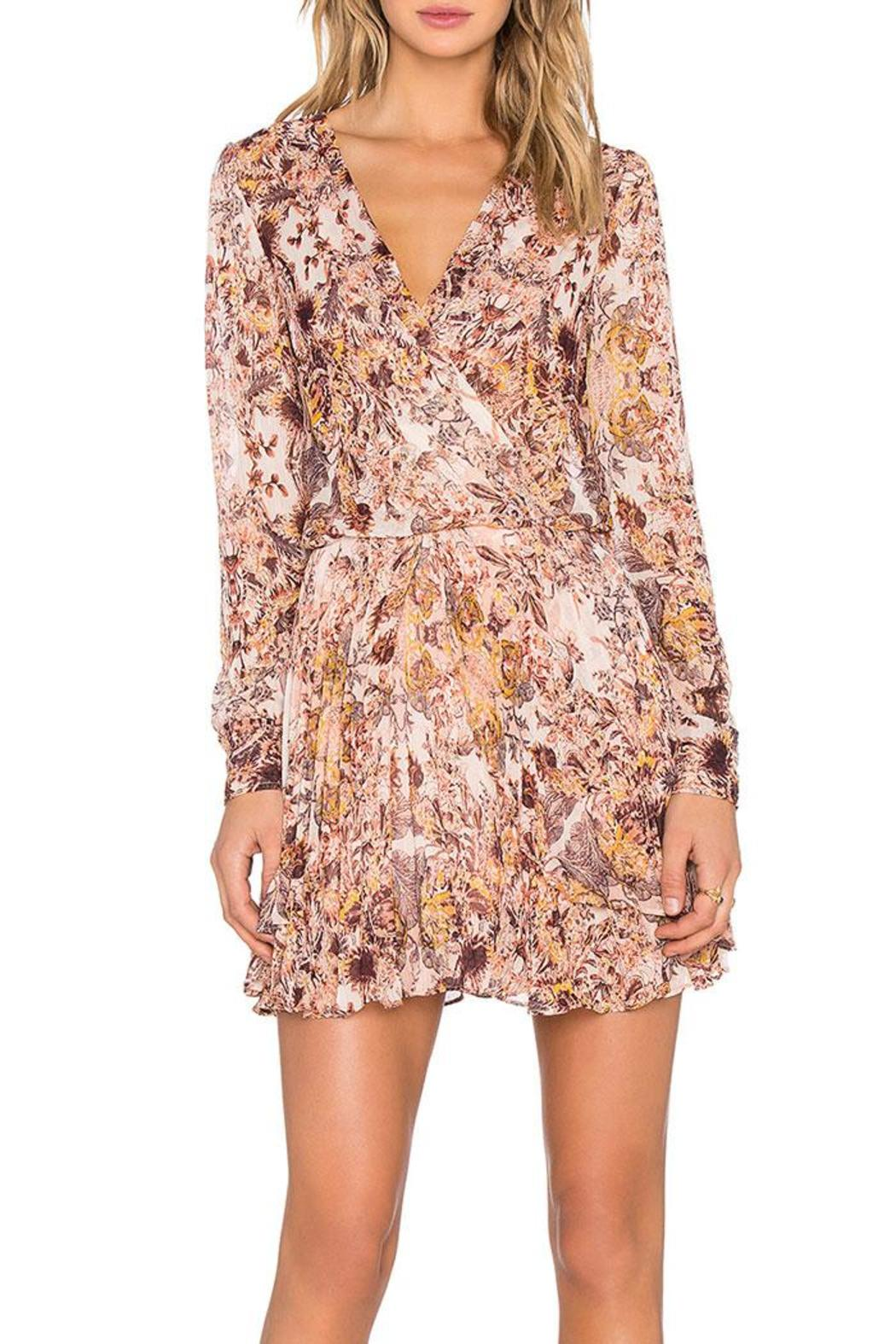 BCBGeneration Printed Mini Dress - Main Image