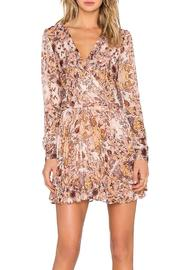 BCBGeneration Printed Mini Dress - Front full body