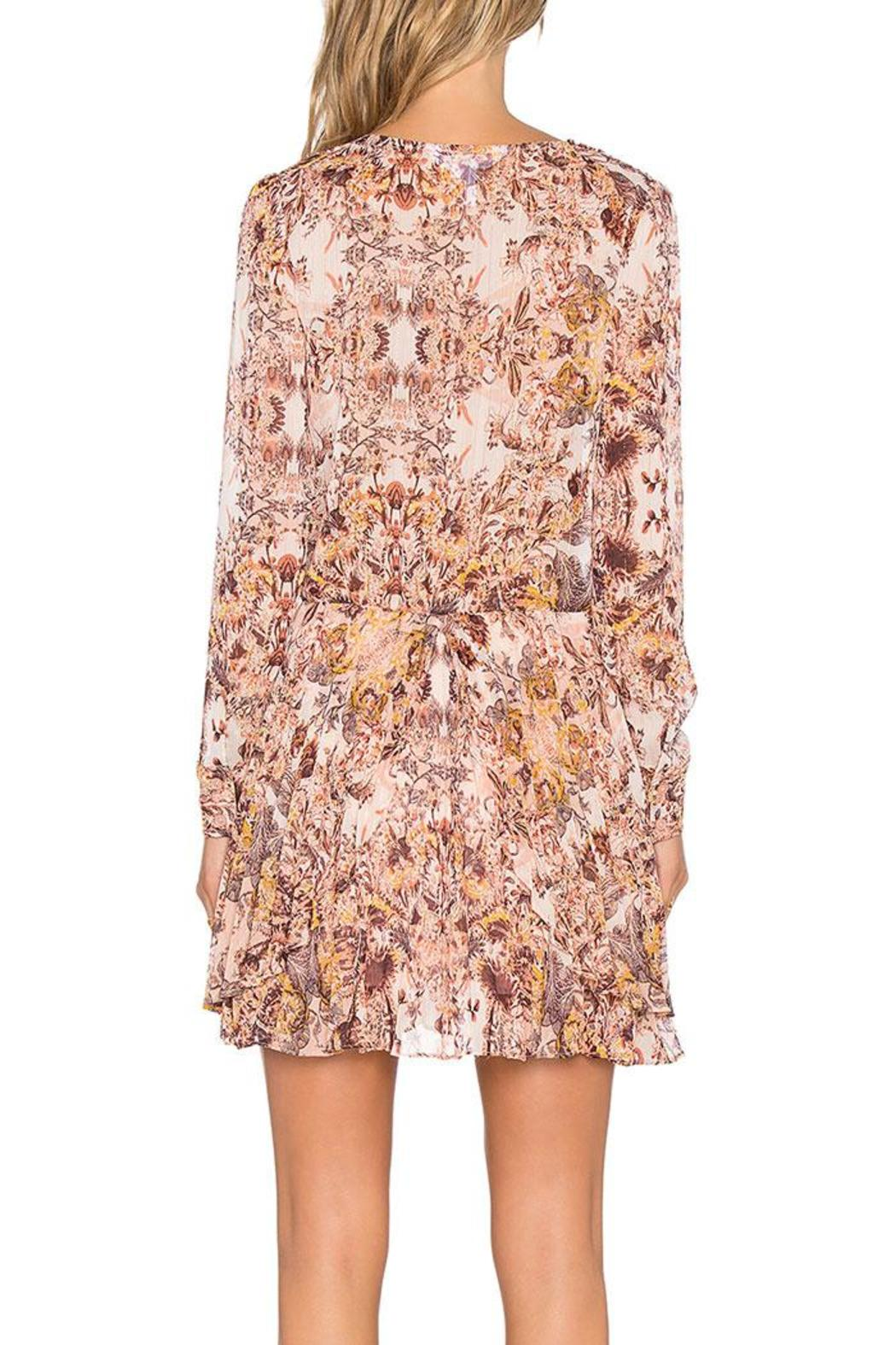 BCBGeneration Printed Mini Dress - Side Cropped Image