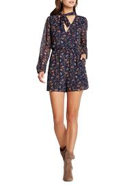 BCBGeneration Printed Romper - Product Mini Image
