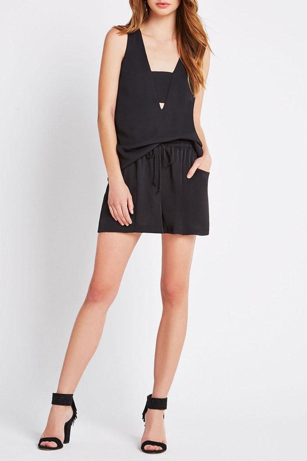 BCBGeneration Pull-On Pocket Shorts - Side Cropped Image