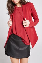 BCBGeneration Red Open Blazer - Product Mini Image