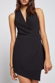 BCBGeneration Ruched Tuxedo Dress - Product Mini Image