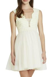BCBGeneration Scalloped-Edge Dress - Product Mini Image