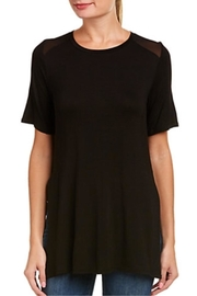 BCBGeneration Sheer  Shoulder Tee - Product Mini Image
