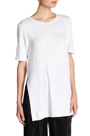 BCBGeneration Side Slit Tee - Front cropped