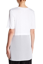 BCBGeneration Side Slit Tee - Front full body