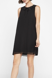 BCBGeneration Sleeveless Lace Inset Dress - Product Mini Image