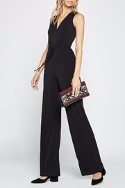 BCBGeneration Sleeveless Surplice Jumpsuit - Product Mini Image