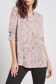 BCBGeneration Snake Print Button Up - Product Mini Image