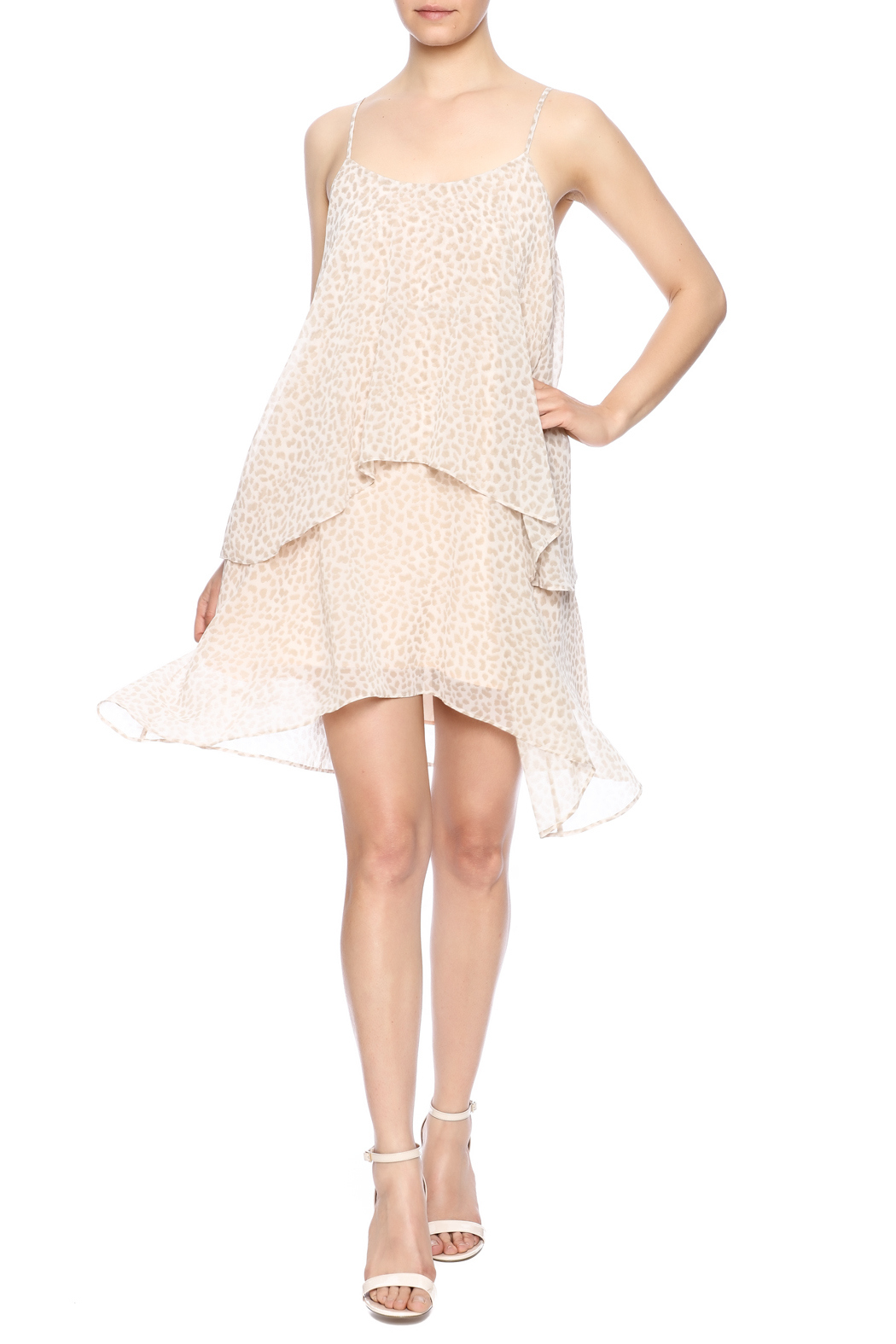 BCBGeneration Strappy Cocktail Dress - Main Image
