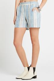 BCBGeneration Striped Boyfriend Shorts - Product Mini Image