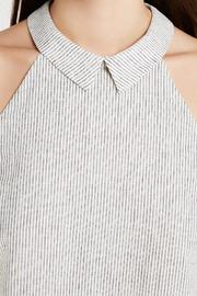 BCBGeneration Striped Collar Top - Side cropped