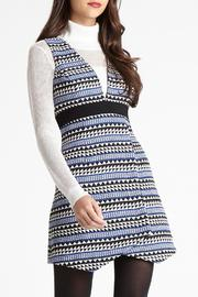 BCBGeneration Striped Jacquard Dress - Product Mini Image