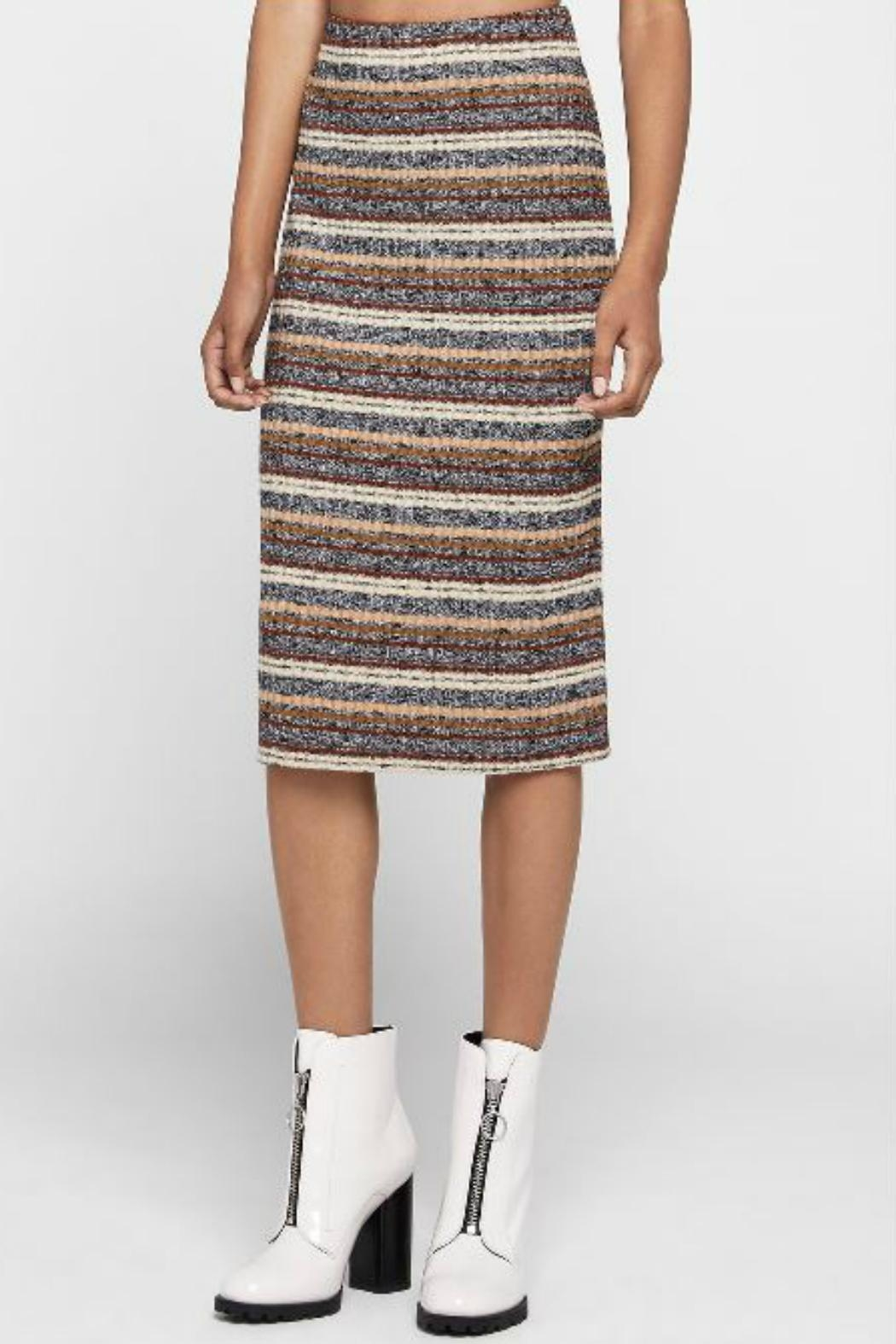 BCBGeneration Striped Pencil Skirt - Main Image