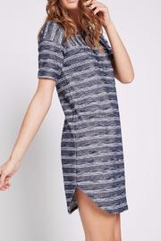 BCBGeneration Striped Tee Dress - Product Mini Image