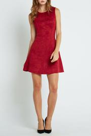 BCBGeneration Suede Skater Dress - Product Mini Image