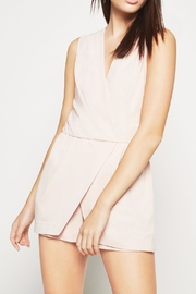 BCBGeneration Surplice Skort Romper - Product Mini Image