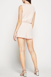 BCBGeneration Surplice Skort Romper - Front full body