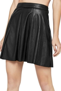 BCBGeneration Vegan Leather Skirt - Product List Image