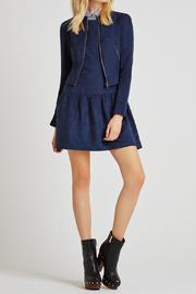 BCBGeneration Woven Suede Jacket - Product Mini Image