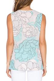 BCBGMAXAZRIA Lacey Print Top - Side cropped