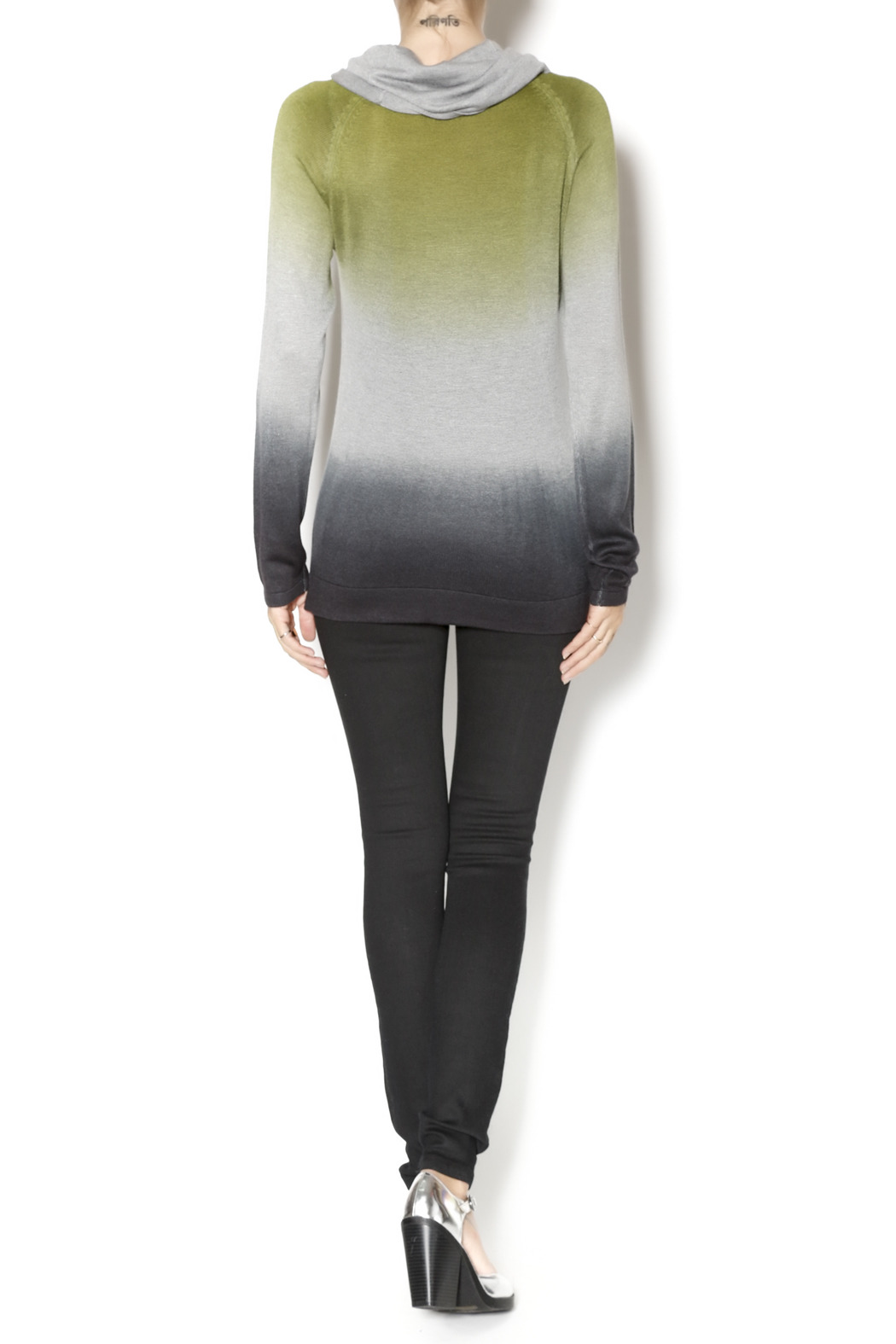 Renuar Cowl Neck Sweater - Side Cropped Image