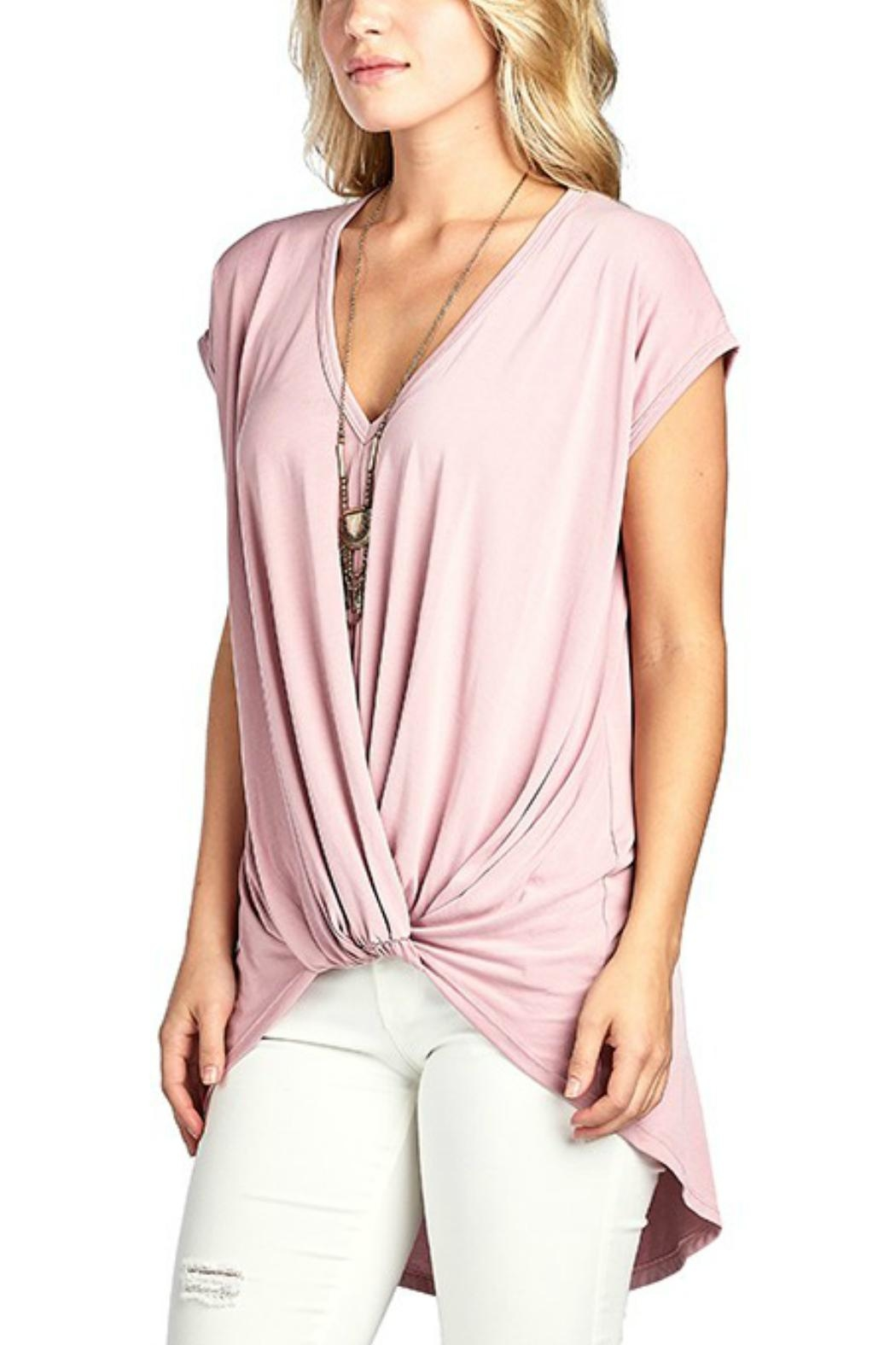 BD Knotted Hilo Tunic - Front Full Image