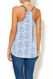 Chic Style Floral Resort Cami - Back cropped