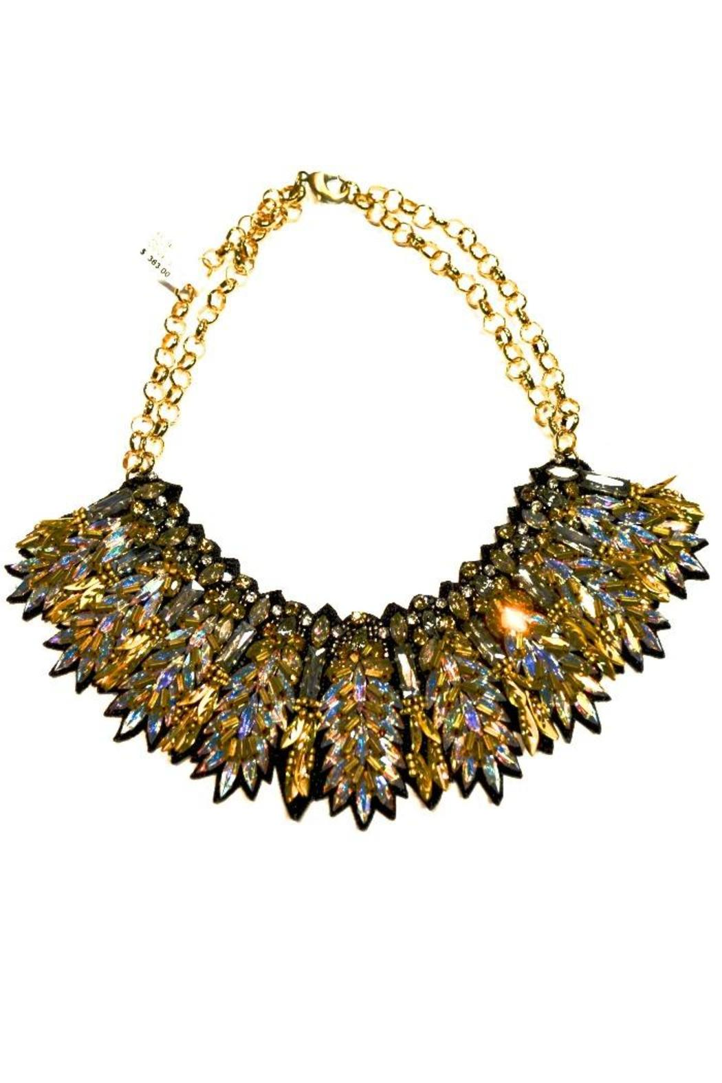 Deepa Gurnani Intense Crystal Necklace - Front Full Image