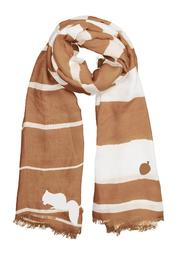 Winky Designs Tan Squirrel Scarf - Product Mini Image