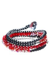 Ananda Cotton Wrap Bracelet - Front cropped