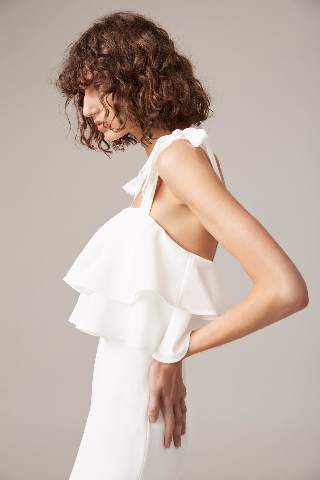 C/MEO COLLECTIVE Be-About-You Gown - Front Full Image