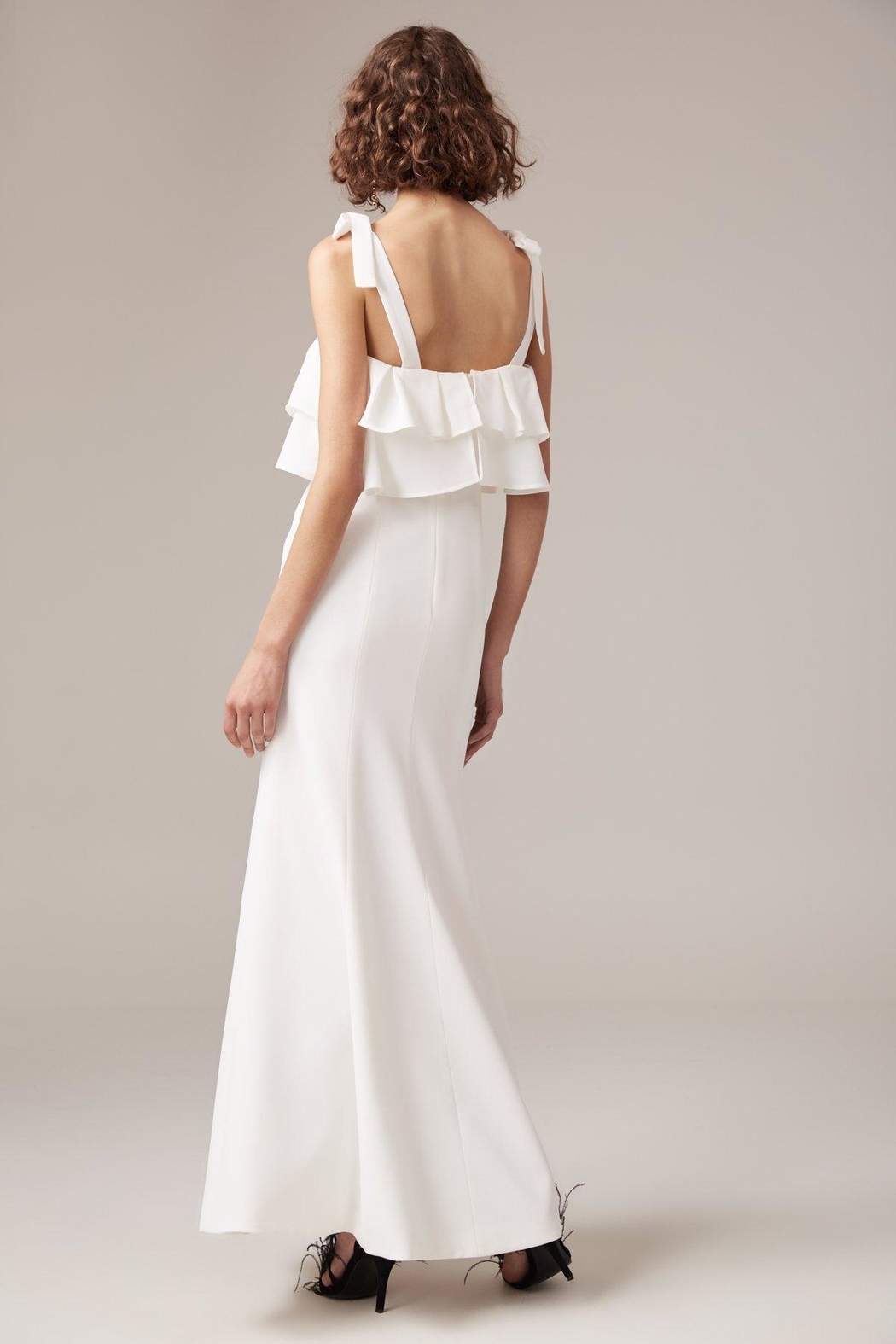 C/MEO COLLECTIVE Be-About-You Gown - Side Cropped Image