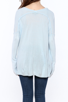 Shoptiques Product: Steel Blue Sweater