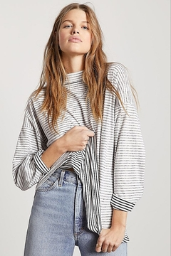 Free People Be Free Stripe Tunic - Product List Image