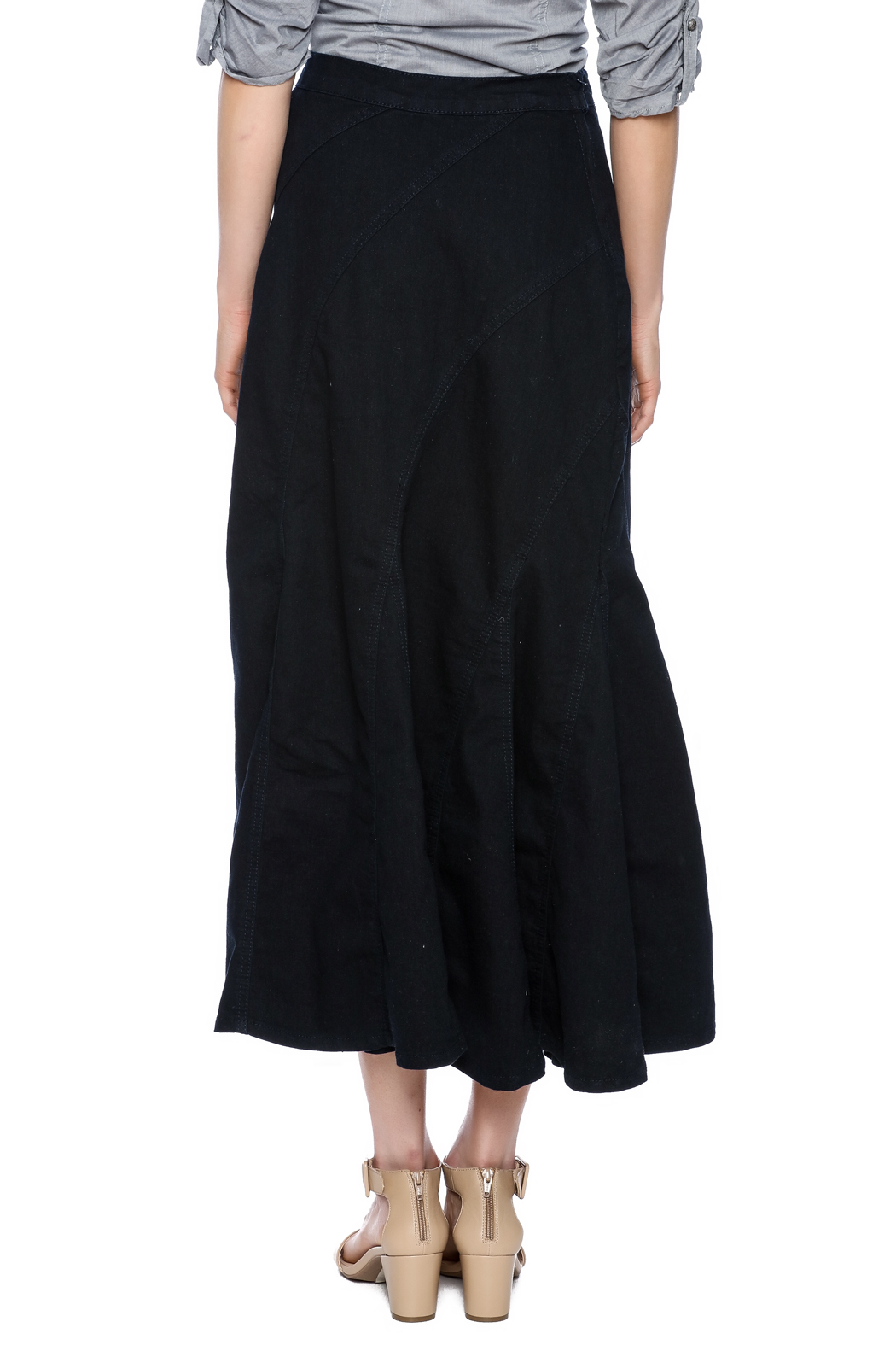 be mermaid denim skirt from new jersey by covered