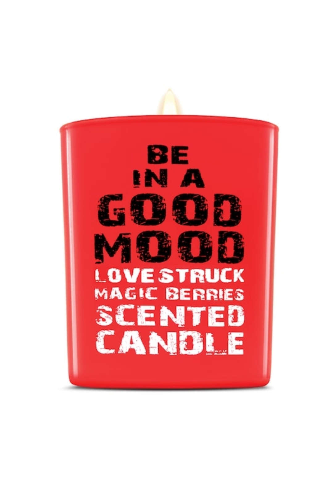 be in a good mood BE IN A GOOD MOOD LoveStruck Magic Berries Scented Candle - Main Image