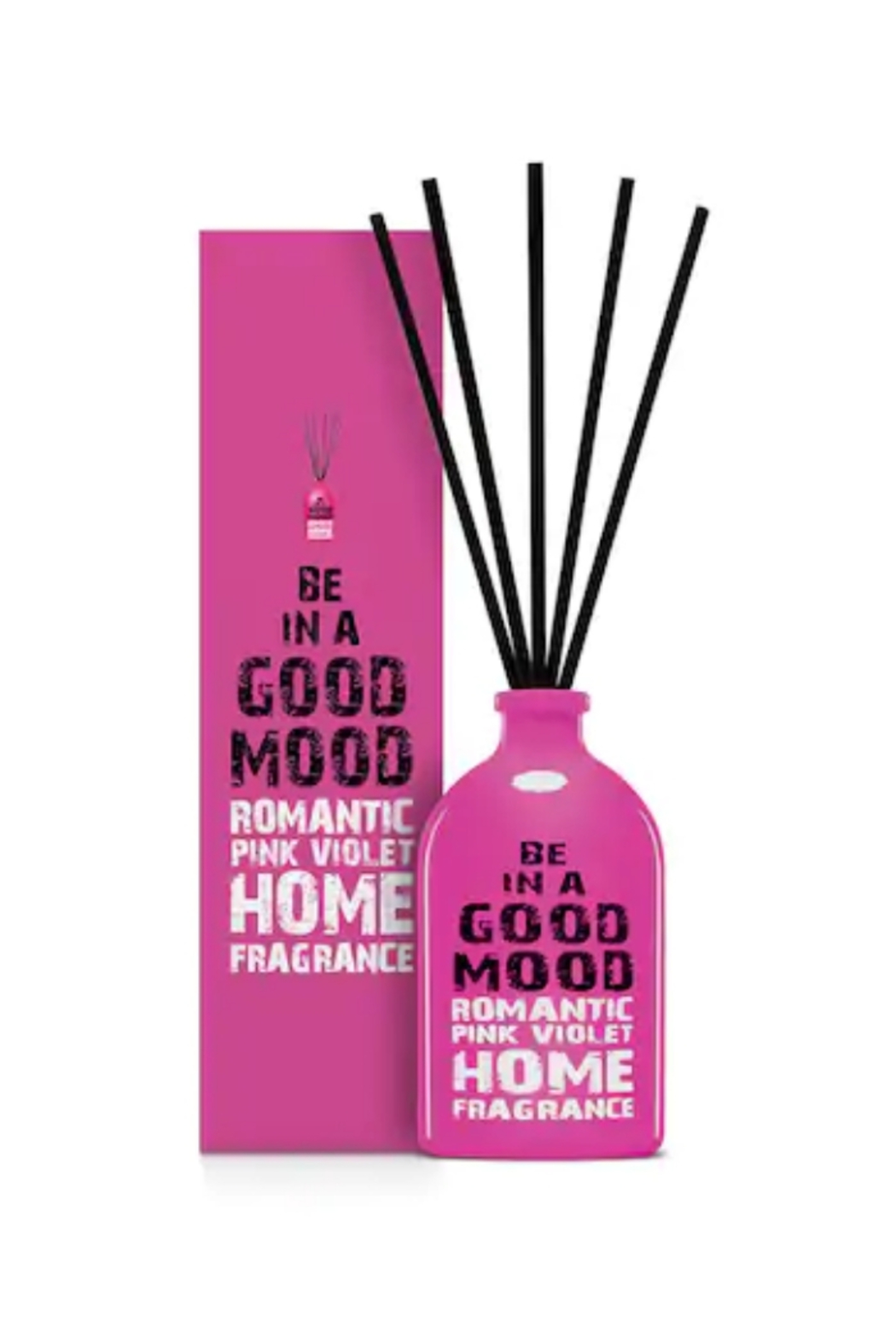 be in a good mood BE IN A GOOD MOOD Romantic Pink Violet Stick Diffuser - Main Image